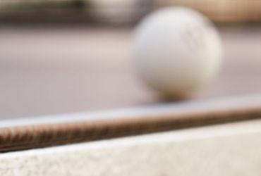 Tischtennistisch Oberfläche