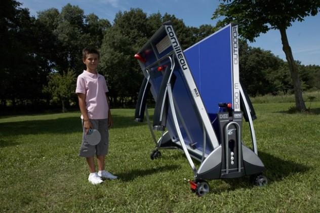 Tischtennisplatte rastet ein und fällt nicht runter: DSI® Verriegelungsmechanismus für von Cornilleau