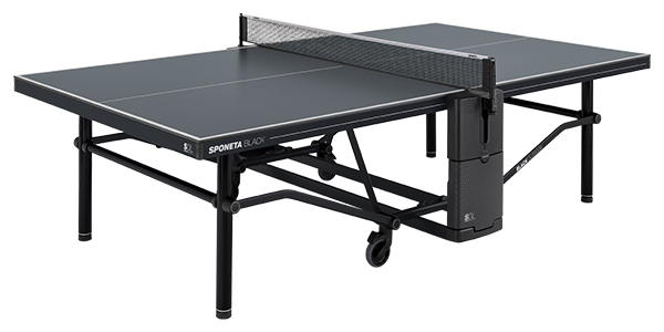 SPONETA SDL Black Outdoor: Tisch wird montiert geliefert